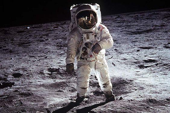 Neil Armstron en la Luna