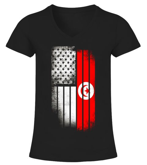 Tunisian American Flag Usa Tunisia Flag T Shirt Special Offer Not Available In Shops Comes In A Variety Of Styles A T Shirt Tunisia Clothes Shirts