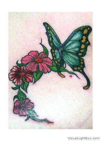 Motif tatouage papillon (20)