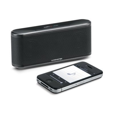 Monster® ClarityHD Micro Bluetooth Speaker delivers high-definition sound without wires.