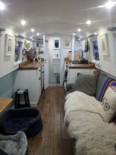 Absolutely gorgeous narrowboat re-fit