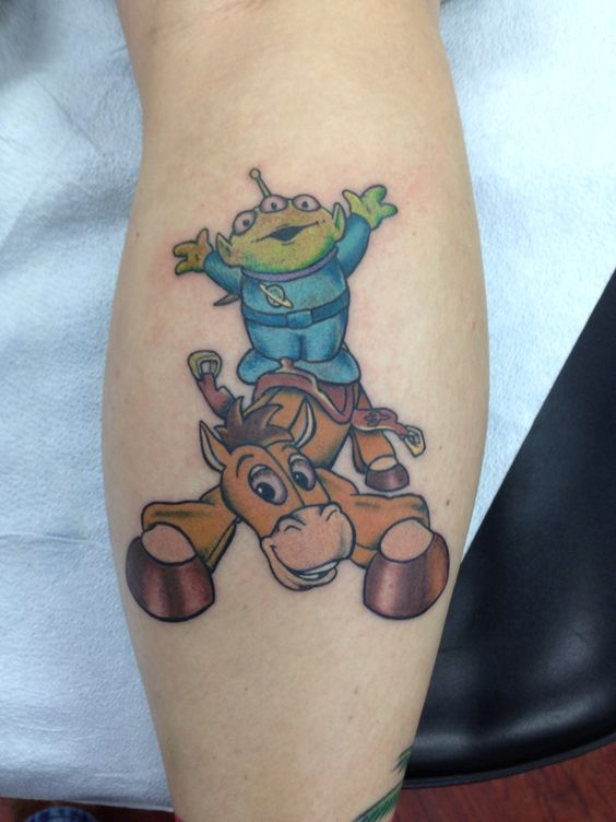 Toys For Tats : Alien tattoo toy story and on pinterest