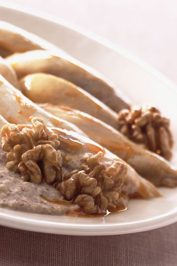 Pechugas de pollo con salsa de yogur #RecetasTELVA #Cocina #Cuchara #Otoño #PasoAPaso