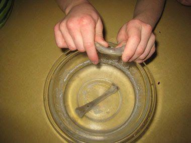 Experimentos para niños: los huesos de goma