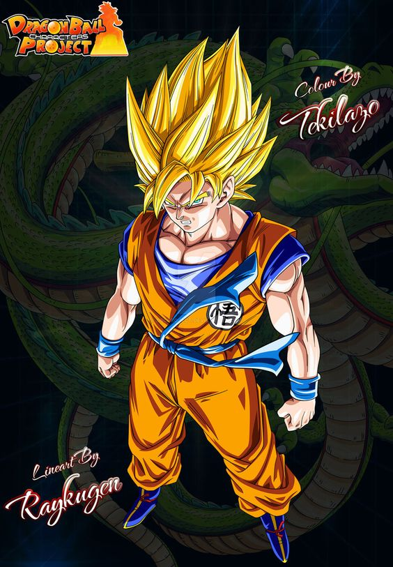 Goku for website Final Version by DBCProject on DeviantArt