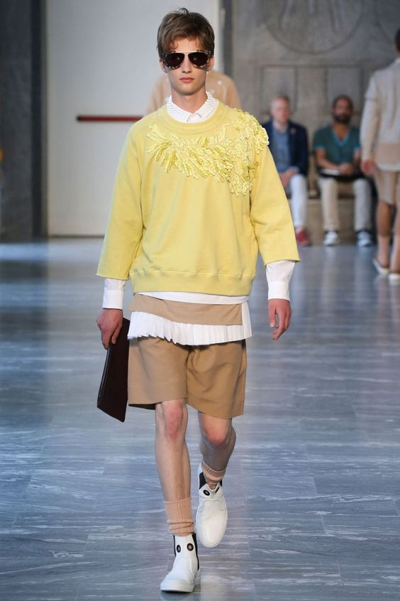 Andrea Pompilio - Spring/Summer 2015 - Milan Fashion Week #andreapompilio #essentialhomme #summer2015 #milanfashionweek #trends #runway