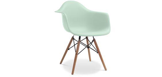 Chaise DAW Charles Eames Style - Polypropylène Matt pas cher