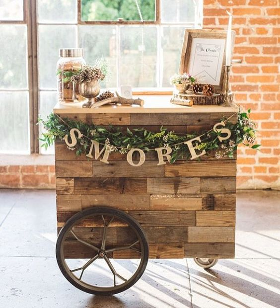 This #smores bar is genius! See more of @beinspiredpr's @tasselsandtastemakers party + insider secrets to throwing the ultimate bash on the blog now! | Photography: @annadelores | Cinematography: @anthologyfilms | Lounge + Hanging Dessert Display: @agoodaffair | Dessert Display Florals: @hiddengardenflowers | Furniture Rentals: @foundrentals | Venue: @hudsonloft | Host + Event Production: @beinspiredpr | S'mores: @mallowmallow