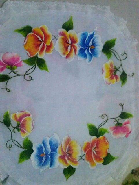 Carpeta pensamientos pintura en tela por lov eli - Pintura en tela dibujos ...