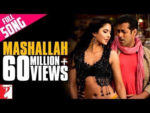 Mashallah Full Song Ek Tha Tiger Salman Khan Katrina Kaif Wajid Khan Shreya Ghoshal Youtube Katrina Kaif Salman Khan Youtube