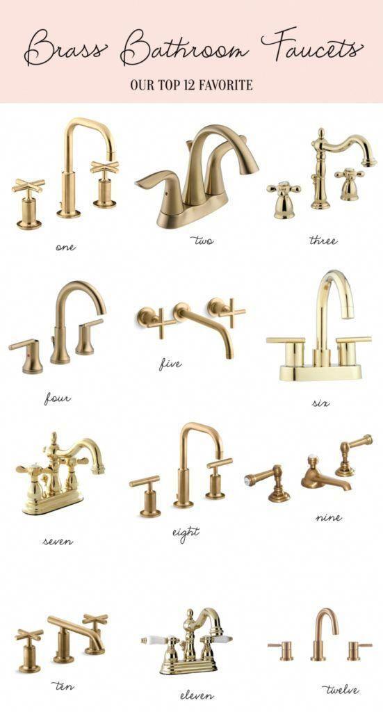 home brass bathroom faucets brass