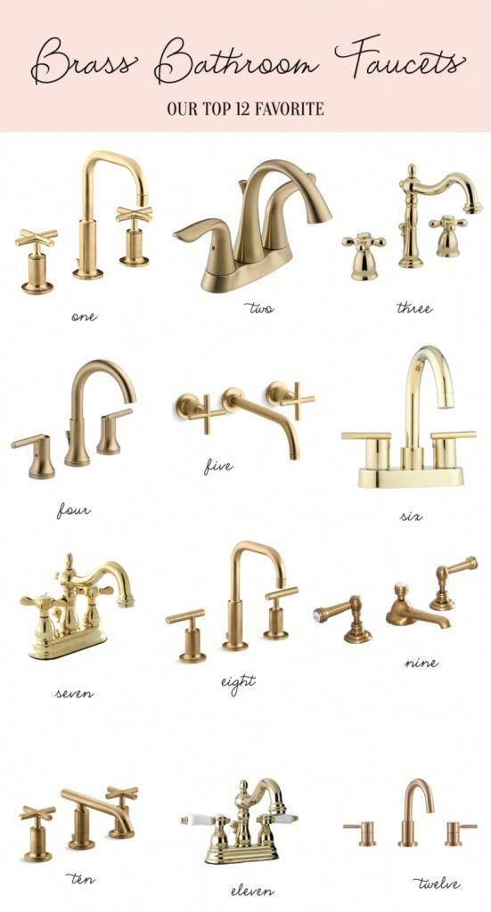 Home Brass Bathroom Faucets In 2020 Brass Bathroom Faucets Brass Bathroom Brass Faucet
