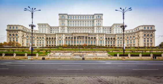 Palace of Parliament (formerly House of the Republic), Bucharest, Romania.