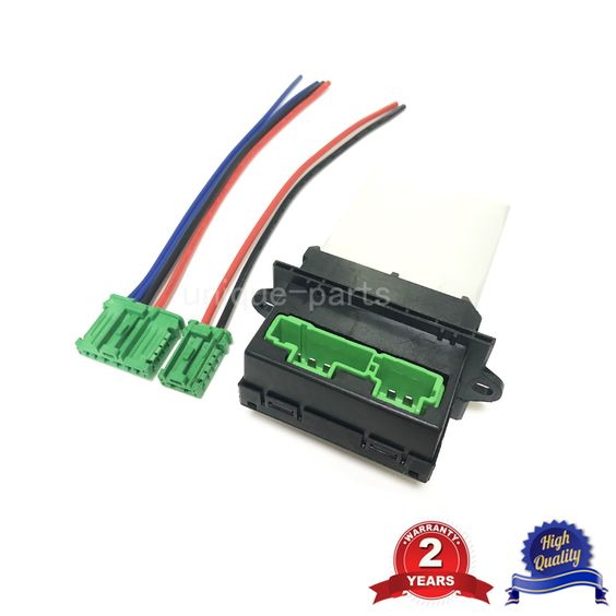 Heater Resistor And Wire Harness For Renault Citroen