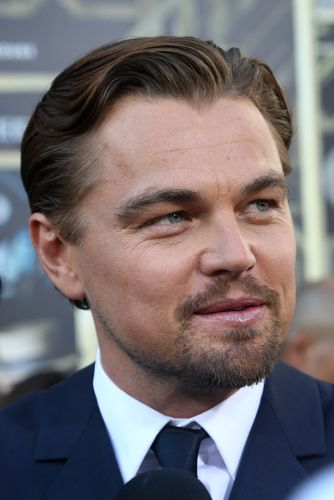 Leonardo DiCaprio Flaunting Gatsby-Inspired Hair | Musical ...
