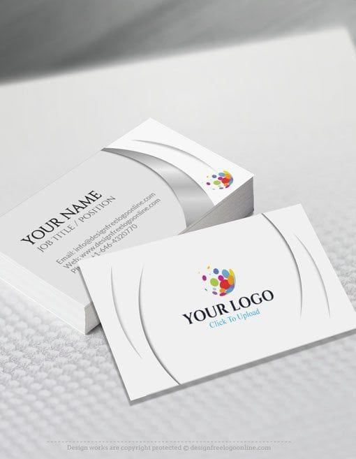 Create Your Own Business Cards With The Free Business Card Maker Free Business Card Maker Business Card Maker Create Your Own Business