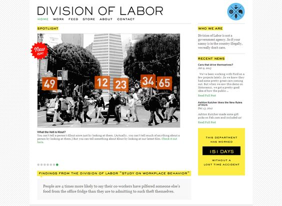 Division of labor san francisco advertising agency san for Design agency san francisco