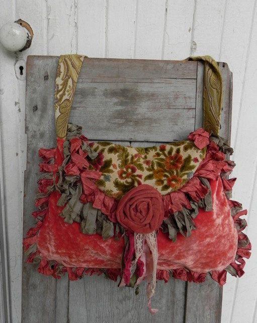 Prairie Couture Carpet Bag - Vagabond Gypsy Style - SALE 40% OFF. $165.00, via Etsy.