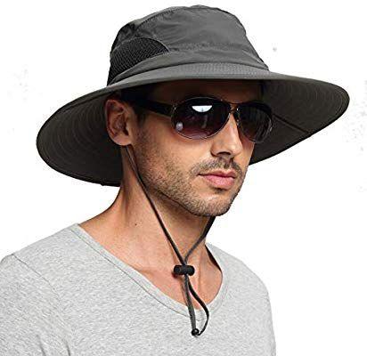 Amazon Com Einskey Men S Waterproof Sun Hat Outdoor Sun Protection Bucket Safari Cap For Safari Fishing Hunting Mens Sun Hats Hats For Men Wide Brim Sun Hat