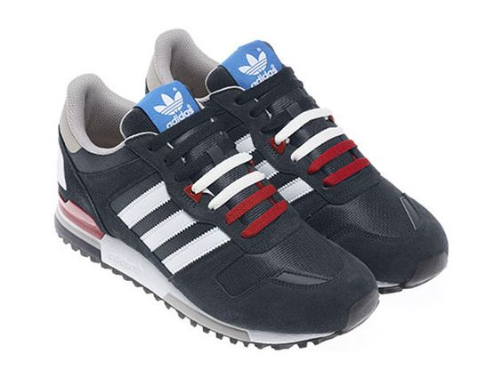 adidas Originals ZX 700   St Dark Slate / Legend Ink   Runing White