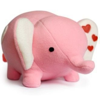 Love Elephant - 8 inch Toy Pattern | YouCanMakeThis.com