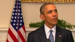 """Nach der Einigung auf dem Klimagipfel in Paris ist das Ergebnis weltweit gefeiert worden. US-Präsident Obama sprach von der besten Chance, """"den einzigen Planeten zu retten, den wir haben"""" - Reuters"""