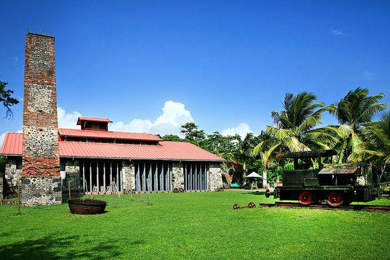 Sugar Cane house. Martinique fwi