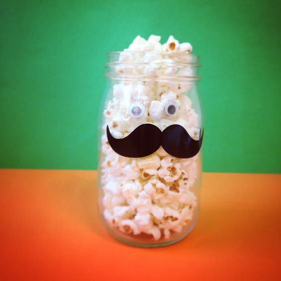 We moustache you to try our delicious popcorn...