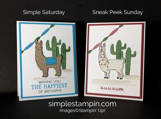 Birthday Fiesta Bundle, Fa-la-la-la Friends Stampin' Up! Holiday, Susan Itell - stampinup
