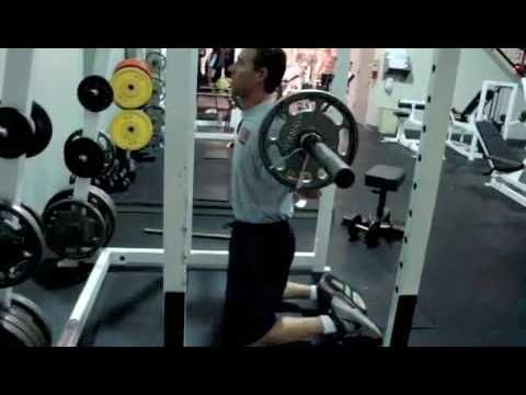 Kneeling Squats Strength Training For Core, Lower Back, and Glute Activa...