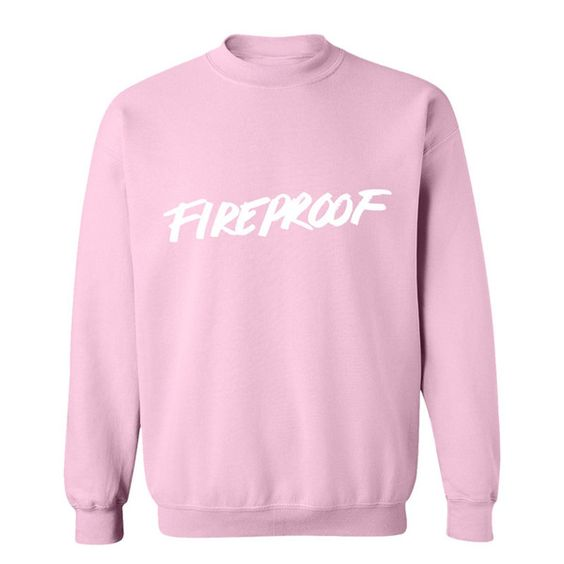 PINK FIREPROOF CREWNECK SWEATSHIRT | Fashion! | Pinterest | Pink ...