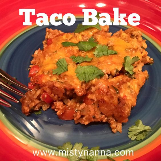 Fit for Life: Ground Turkey & Brown Rice Taco Bake 21 Day Fix