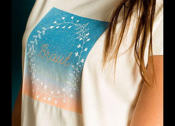 T-Shirts mit Print - JGA Junggesellinnen T-Shirt Motive Spruch Braut - ein Designerstück von Brautig bei DaWanda