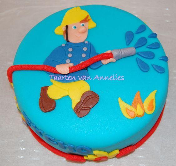 Sam de Brandweerman: Cupcakes Gebak, Cakes Cookies, Taarten Cupcakes, Cake Ideas, Annette Taarten, Taarten Cakes, Cupcakes Taart, Eten Cake
