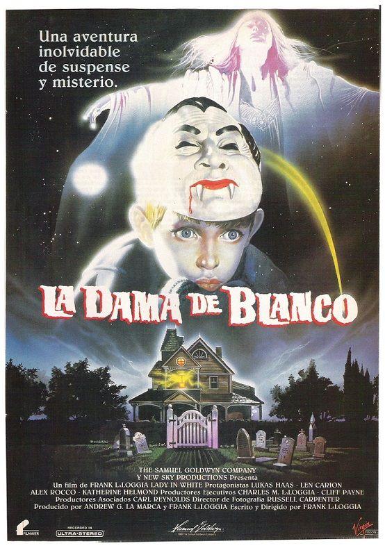 1988 La Dama De Blanco Tt0095484 Movie Posters Movies Poster