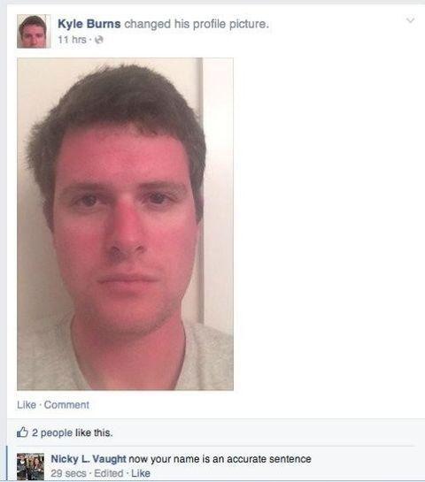 Kyle burns