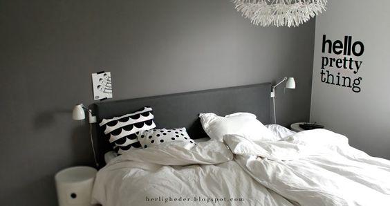 ▌H E R L I G H E D E R: så roligt og rart // soveværelse ...
