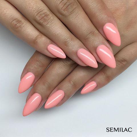 Semilac Lakier Uv Hybrydowy Sleeping Beauty 130 6389999719 Oficjalne Archiwum Allegro Pink Nails Nails Inspiration Nails