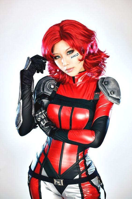 Model: TASHA Spcats (타샤 - 오고은) |  Cosplay: ATI/AMD Ruby - #AMD |  Character: Ruby |  #Cosplay #Spcats