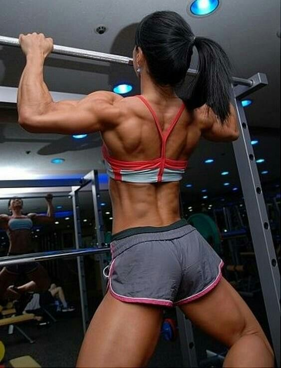 Check Our Website www.OnlyRippedGirls.com For More Fit & Ripped Girls #fitgirls #gymgirls #fitness #health