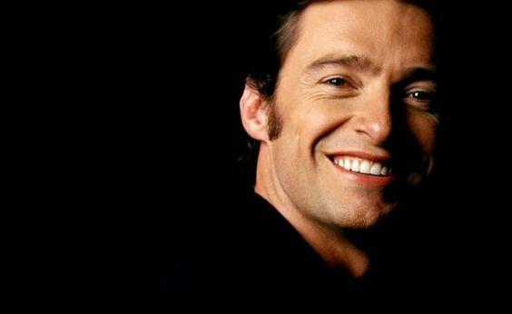 Hugh Jackman.  just LOVE his smile!