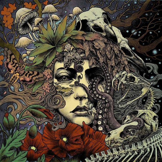 Cover art by Diaz Iñigo Dorre / Bethmoora - Dorre & Bethmoora (2016) Doom Metal