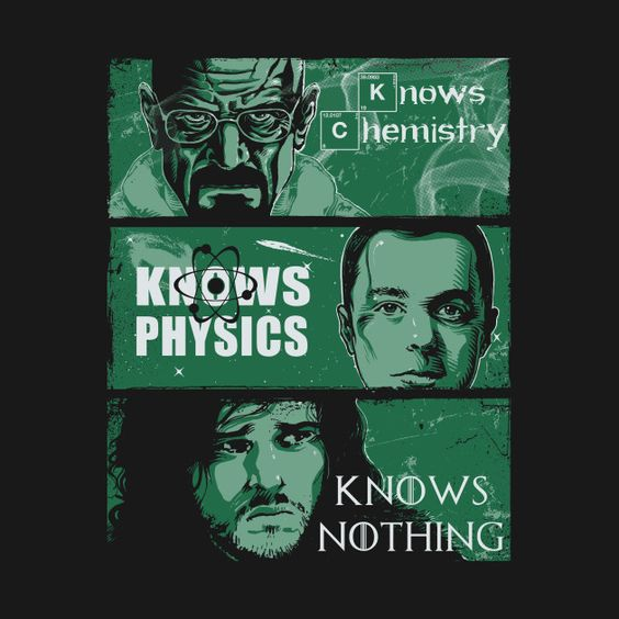 Awesome 'Knowledge+Rules' design on TeePublic!