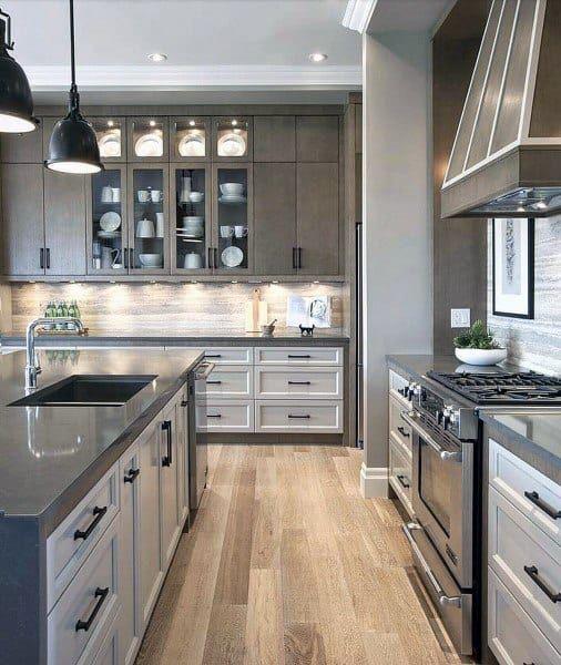 Top 70 Best Kitchen Cabinet Ideas Unique Cabinetry Designs In 2020 Kitchen Backsplash Trends Stone Backsplash Kitchen Modern Kitchen Furniture