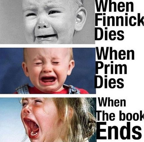 Hunger Games ♥ when finnick died I was the second face
