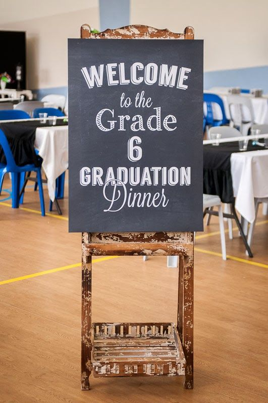 Little Big Company | The Blog: School themed Graduation Dinner by The Sweet Society and The Little Big Company