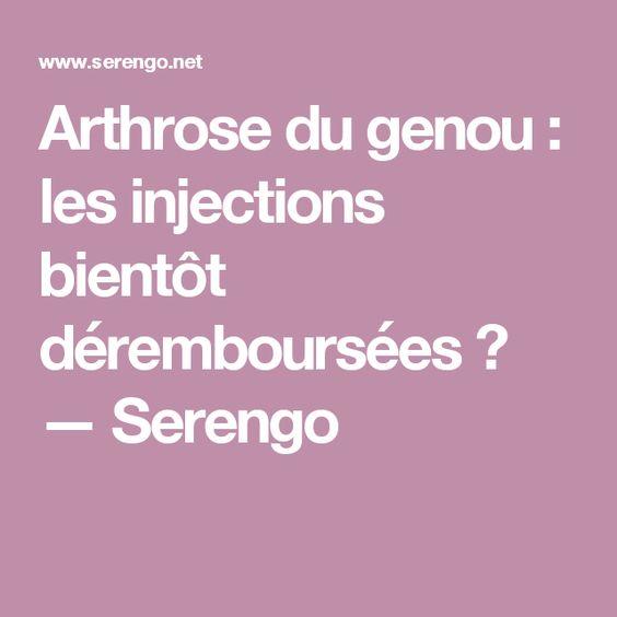 Arthrose du genou : les injections bientôt déremboursées ? — Serengo