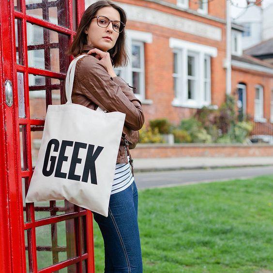 'Geek' Tote Bag