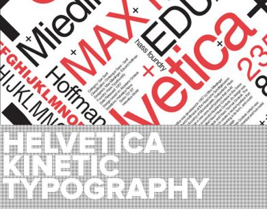 We all LOVE Helvetica! Below is a collection of the best typography animated videos and all of them, of course contain beloved font!