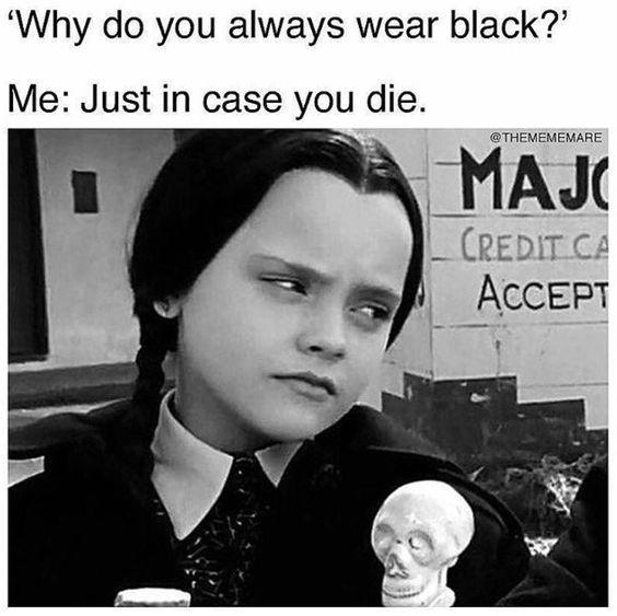 Silent Humor Dark Humor Jokes Goth Humor Goth Memes